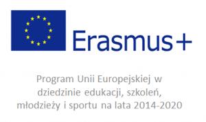 Logo projektu - Erasmus+