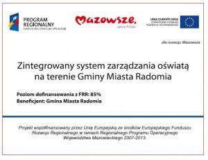 Logo - Zintegrowany system zarządzania oświatą na terenie Gminy Miasta Radomia