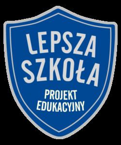 Logo projektu - Lepsza Szkoła Projekt Edukacyjny