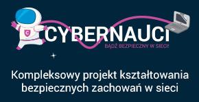 Logo projektu - Cybernauci