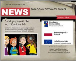 Logo projektu - Świadomy Obywatel Świata
